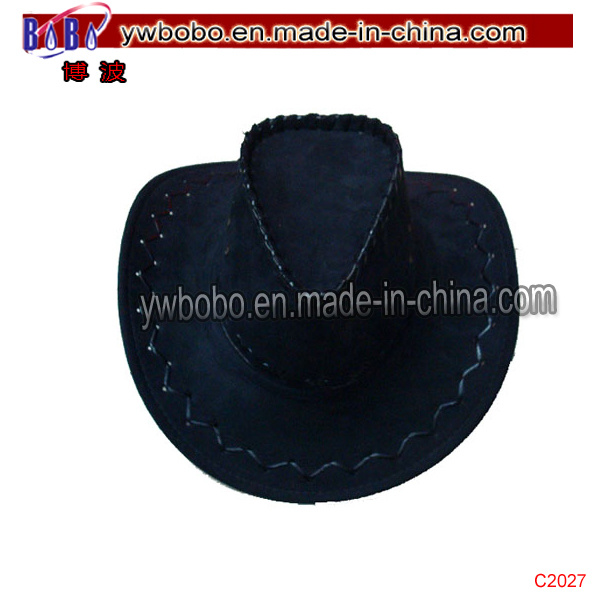3bf0bdf5 [Hot Item] Leather Western Cowboy Hats Mexican Cowboy Hat Promotional Cap  (C2027)