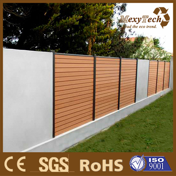[Hot Item] Garden Fence New Design WPC Wall Panels Small Fence Panel for  Garden