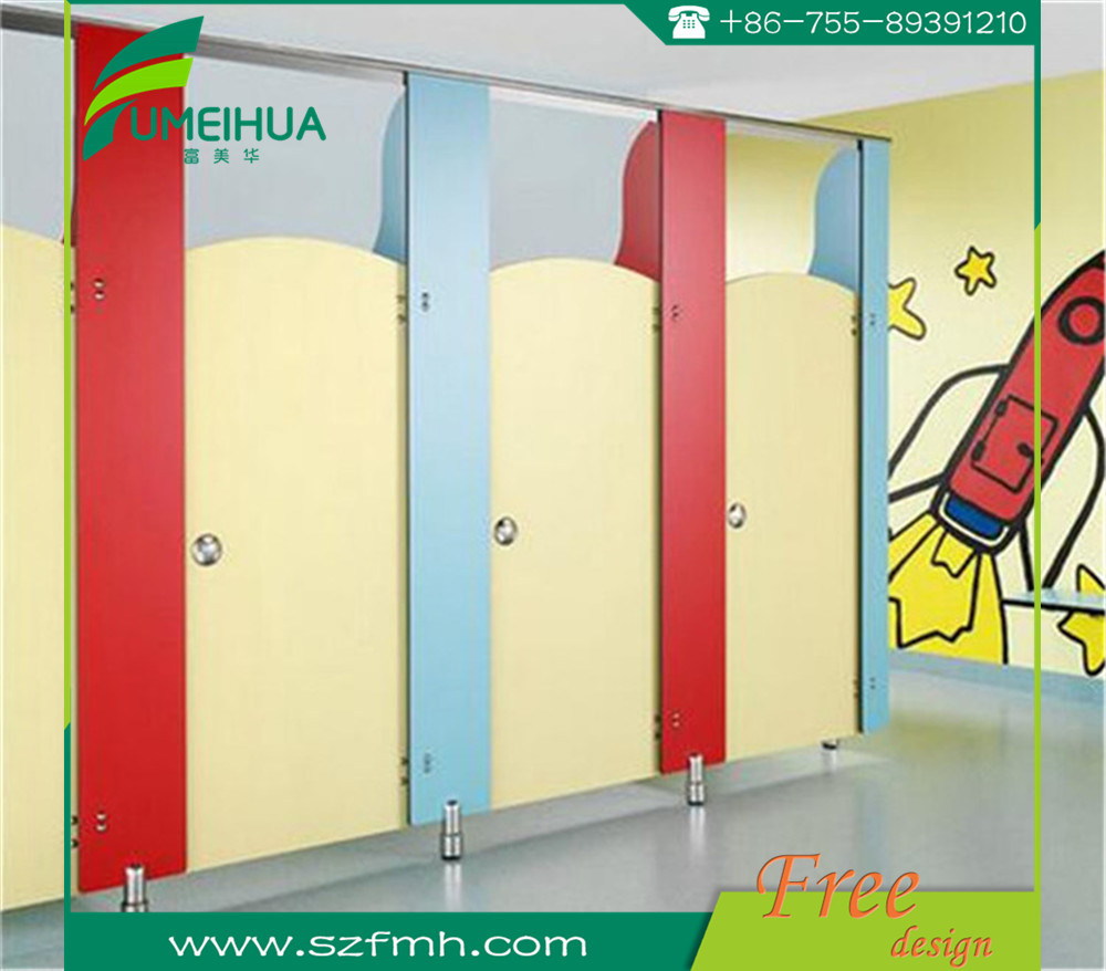 Durable Phenolic Resin HPL Laminate Toilet Cubicle pictures & photos