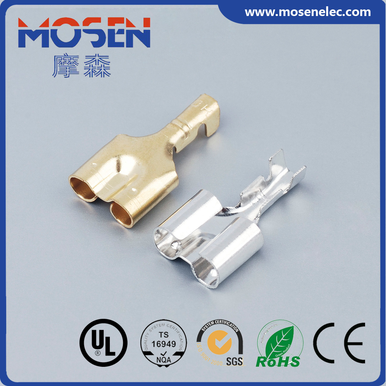 China Nissan Connector DJ223-3.5A Fast-on Connector Electrical ...