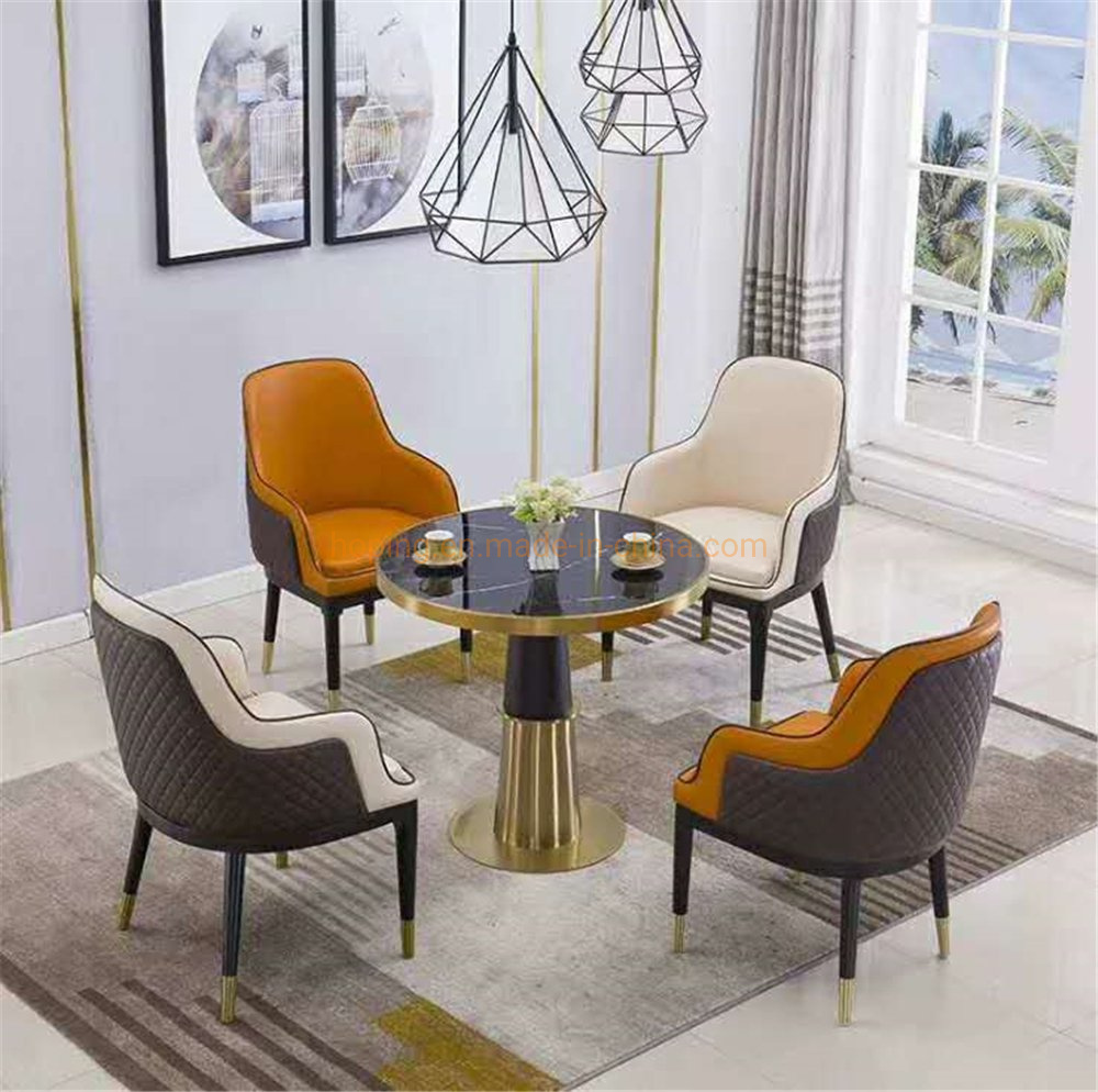 China Banquet Coffee Entry Table Luxury Living Room Furniture Modern Accent Chair China Shining Stainless Steel Chair Event Party Chair
