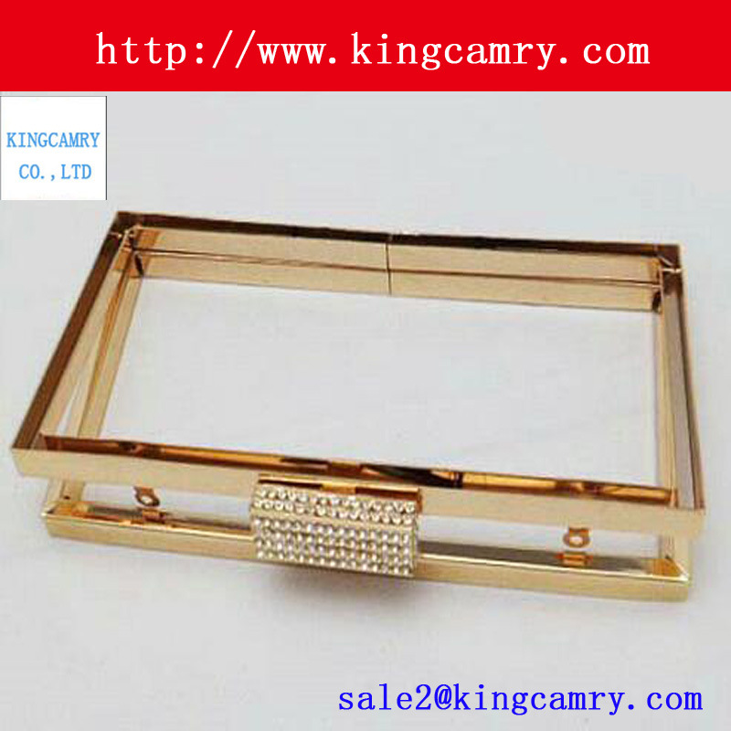 Purse Frame Clutch/Purse Frame Clutch Clip/Clutch Bag Metal Frame pictures & photos