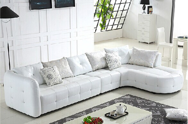 China Modern Italian Leather Sofa