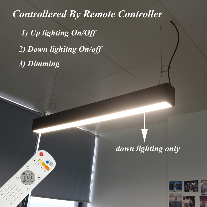 up and Down Suspended LED Linear Trunking Light with Y-Connector pictures & photos