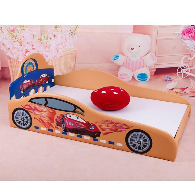 China Factory Supply Car Shape Children Bed Kids Bedroom Furniture