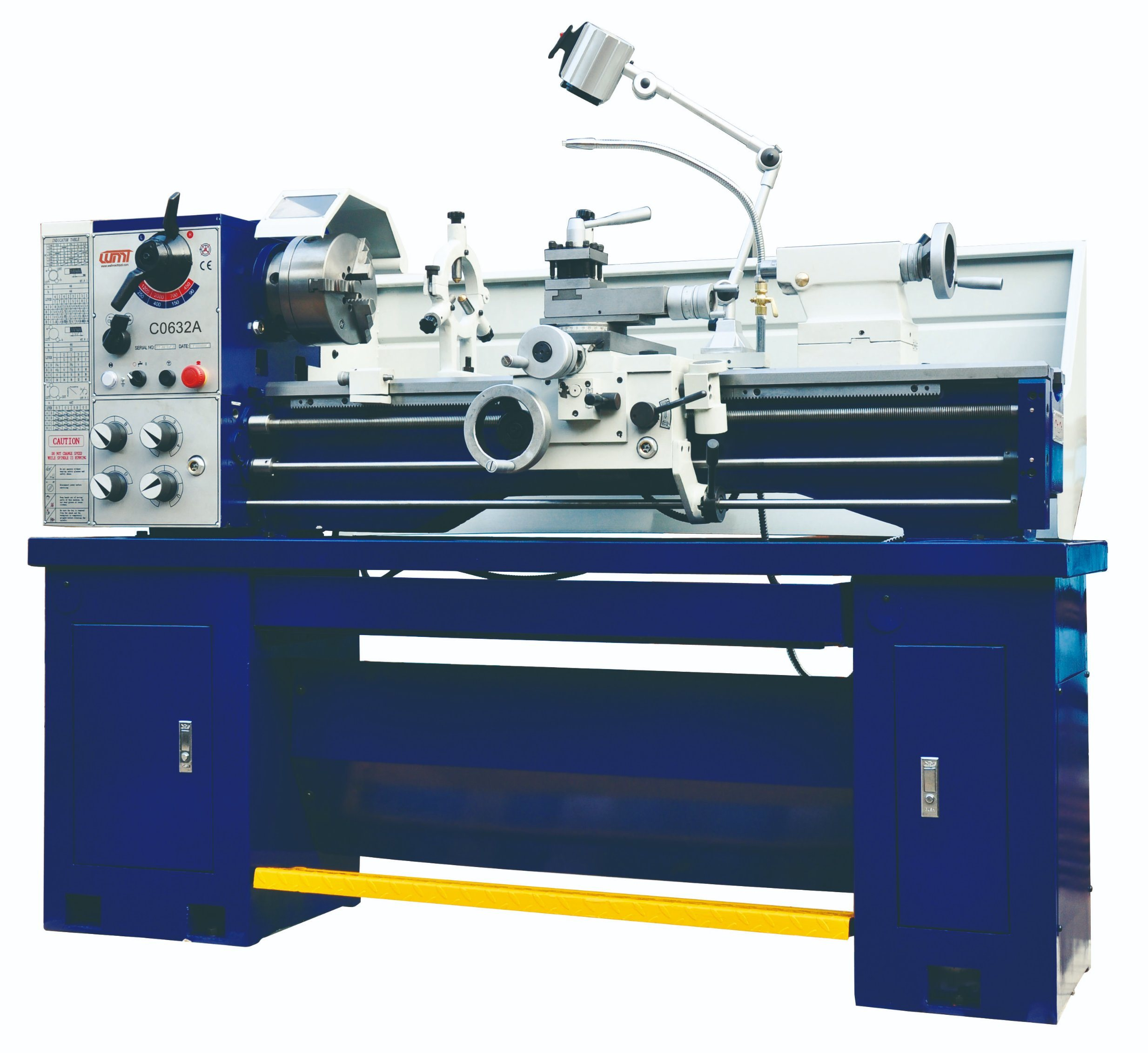 Bench Lathe Machine CQ6230 horizontal metal precision manual