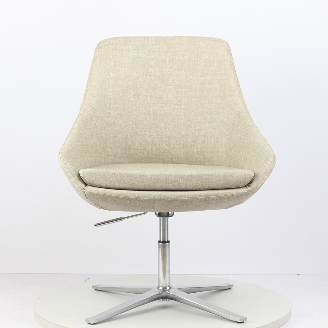 [Hot Item] Personality Creative Office Chair Recreational Reception Chair  Post-Modern Metal Office Chair Sales Office Negotiating Chair