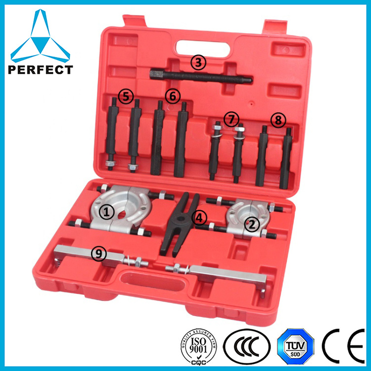 "14pcs Bearing Separator Puller Set 2/"" /& 3/"" Splitters Remover and Bearing Tool"