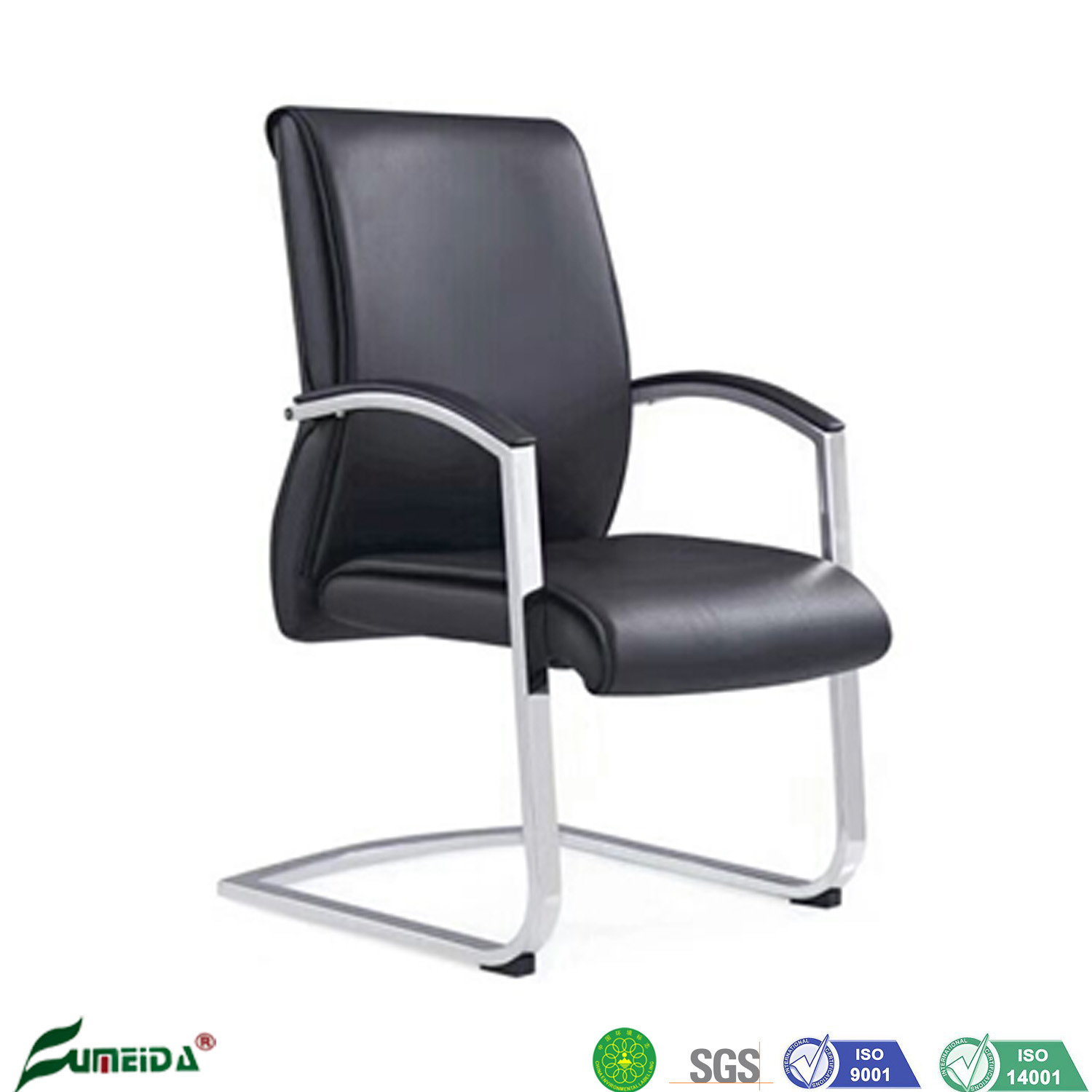 China Ergonomic Comfortable Office Chair Without Wheels Manufacturer China Office Chair Conference Chair