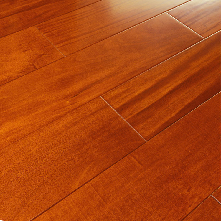 China Interior Strong Durability Solid Garapa Wooden Flooring Solidwood Floor