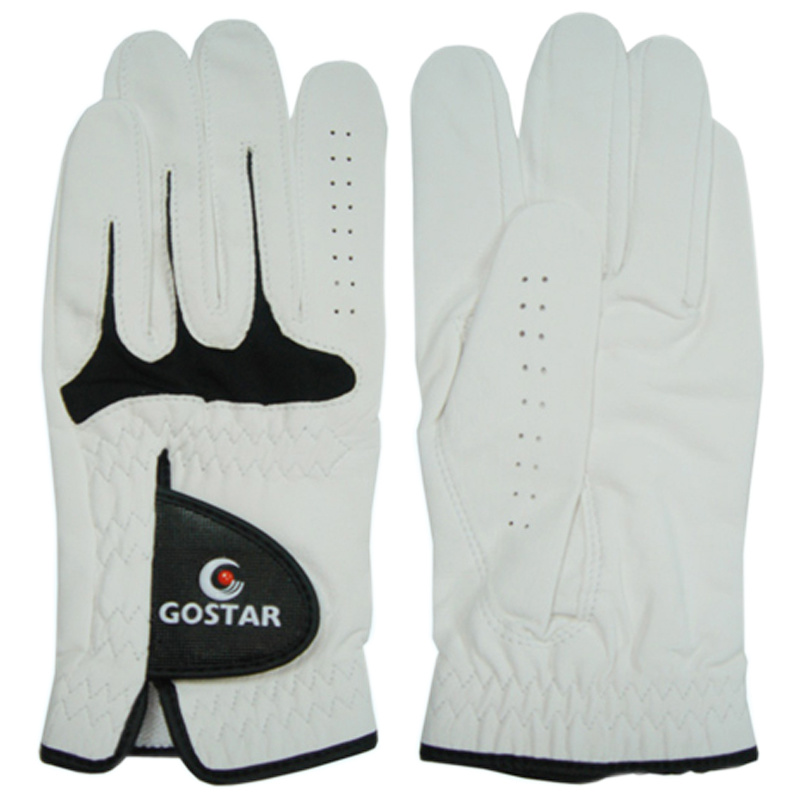 Indonesia Pearl White Golf Glove (CGL-18)