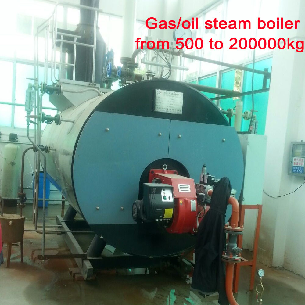 China Steam Boiler Gas Capacity of 1 Ton Per Hour for Expanding ...