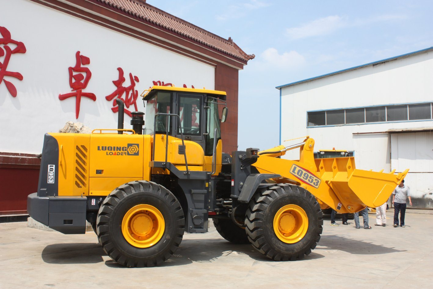 Five Tons Wheel Loader (LQ953) Sdlg Lingong Design 5 Tons pictures & photos