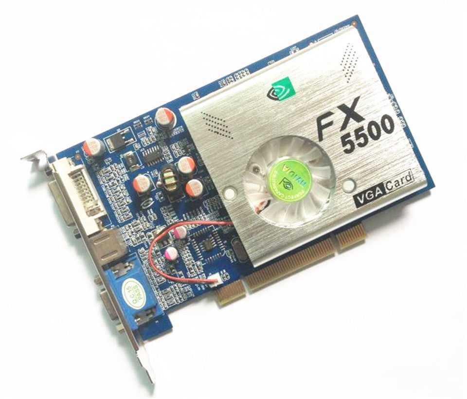 China Nvidia Fx5500 Pci 256mb Dvi Vga S Video Graphic Card China Graphic Card And Video Card Price