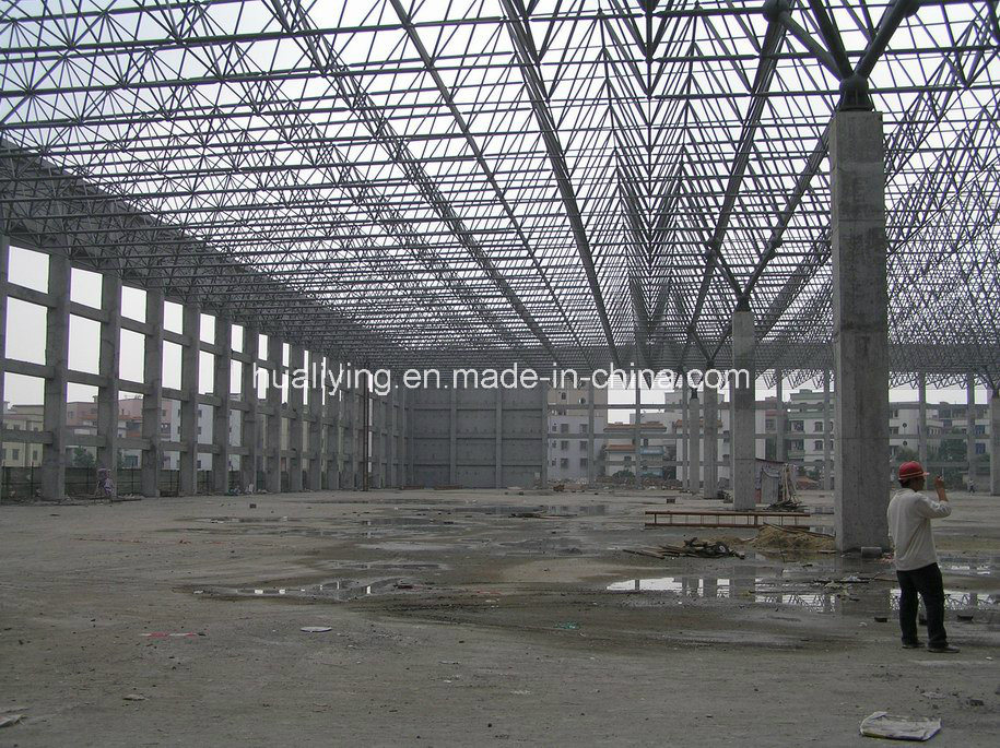 China Roof Grid Cover Space Frame/Steel Structure - China Space ...