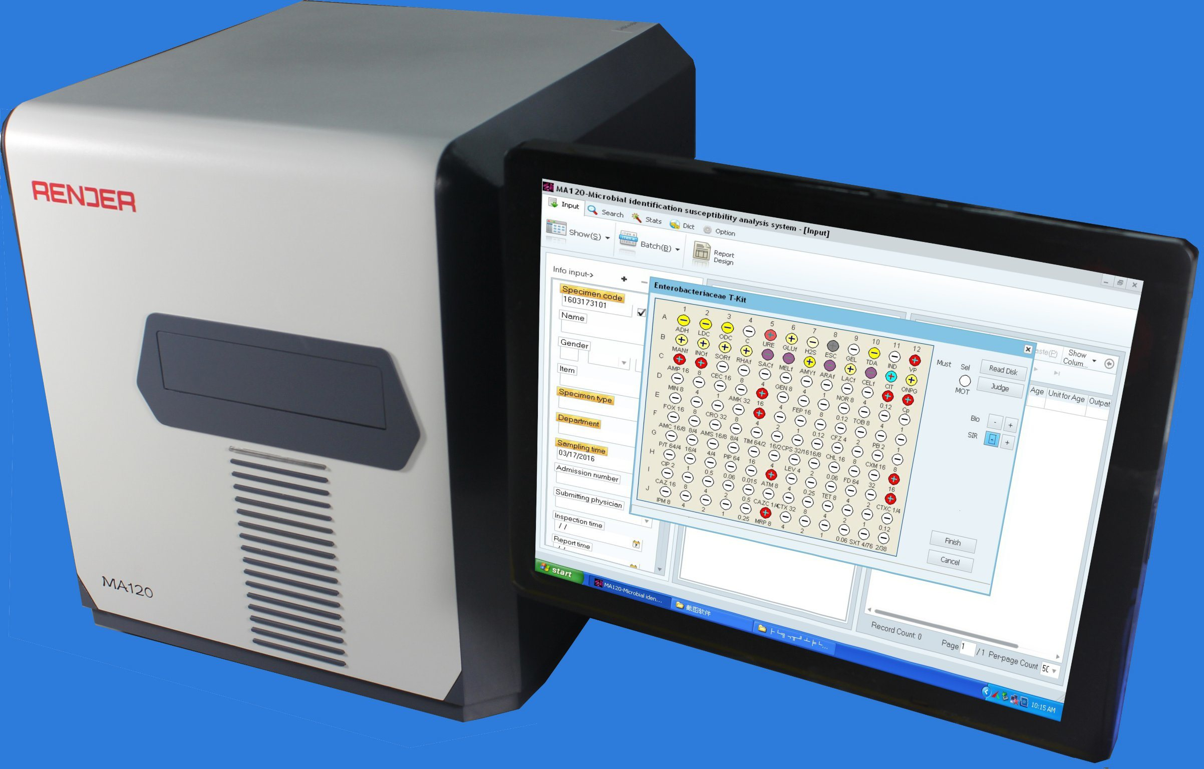 [Hot Item] Automated ID&Ast System for Microbial Identification and  Antibiotic Susceptibility Test
