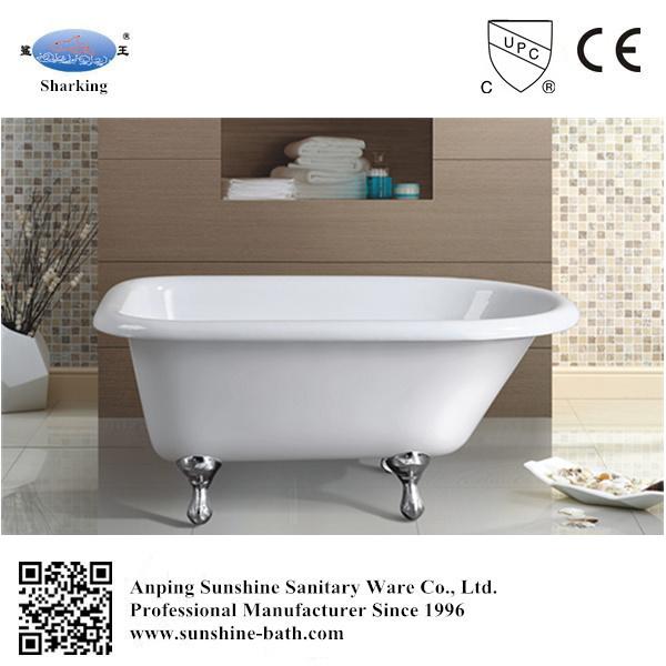 China 48′′ Classical Freestanding Baby Small Size Bath Tub - China ...