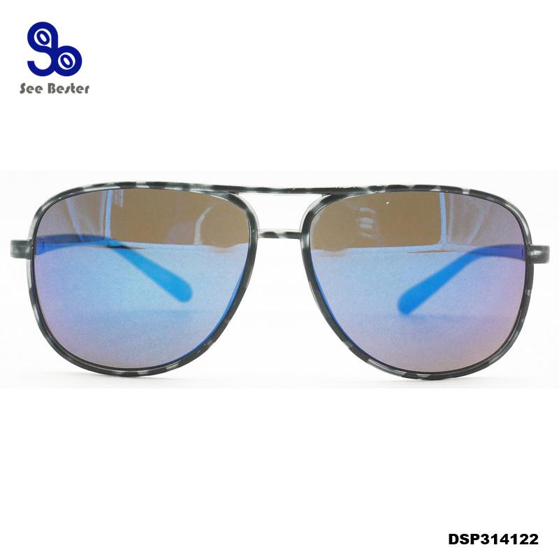 [Hot Item] Multi Color Lens Aviator Sunglasses for OEM and Custom Makers
