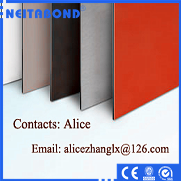 Curtain Wall Material 4mm ACP Aluminum Composite Panel for Construction with SGS Certifications