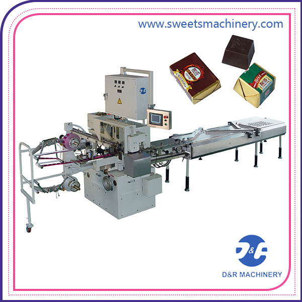 Folding Chocolate Wrapping Machine Chocolate Packaging Packing Machine
