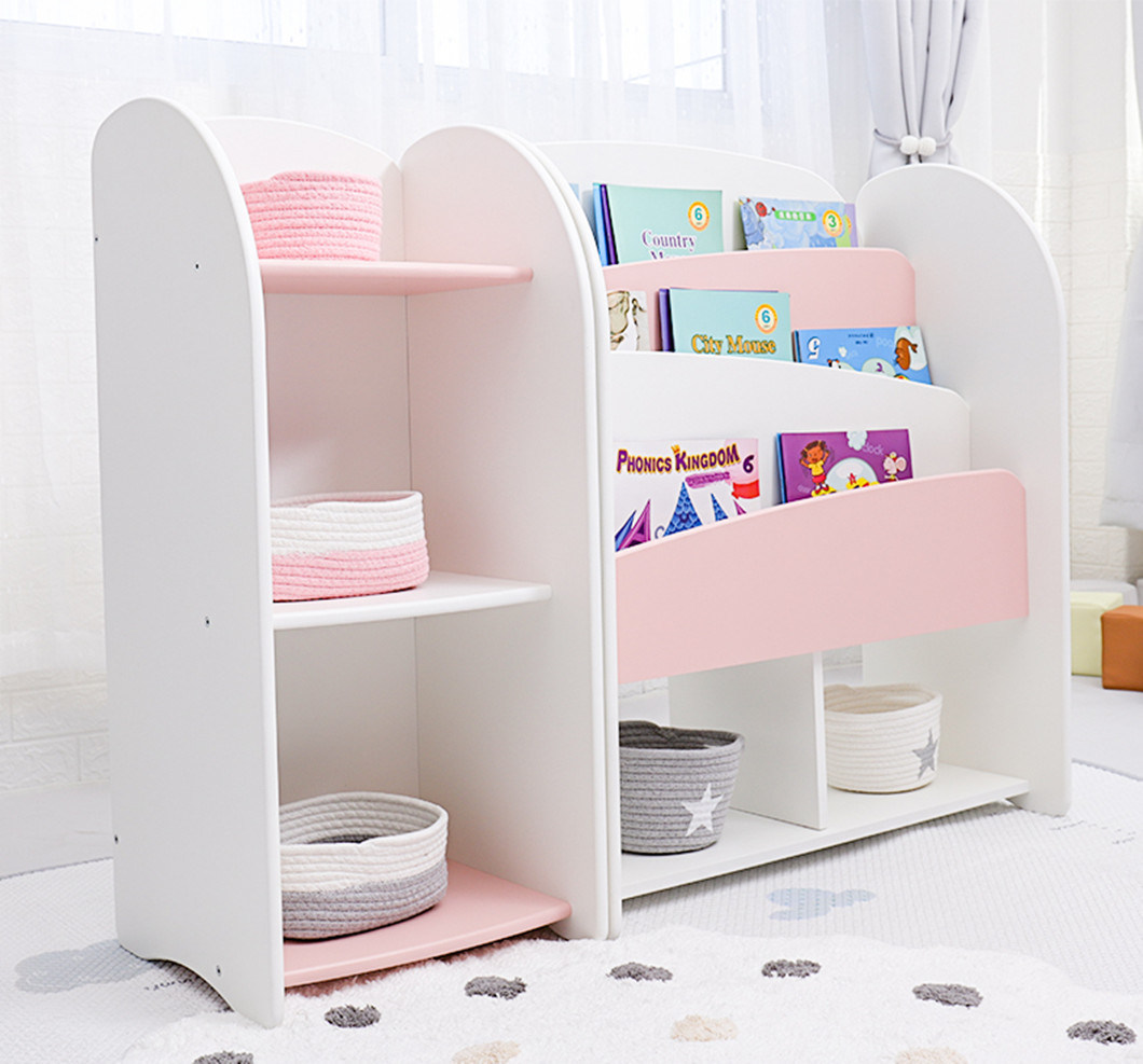 China Wholesale Daycare Furniture Storage Cubby And Bookshelf Kids Wooden Toy Storage Cabinet China Kids Cabinet Kids Book Shelf