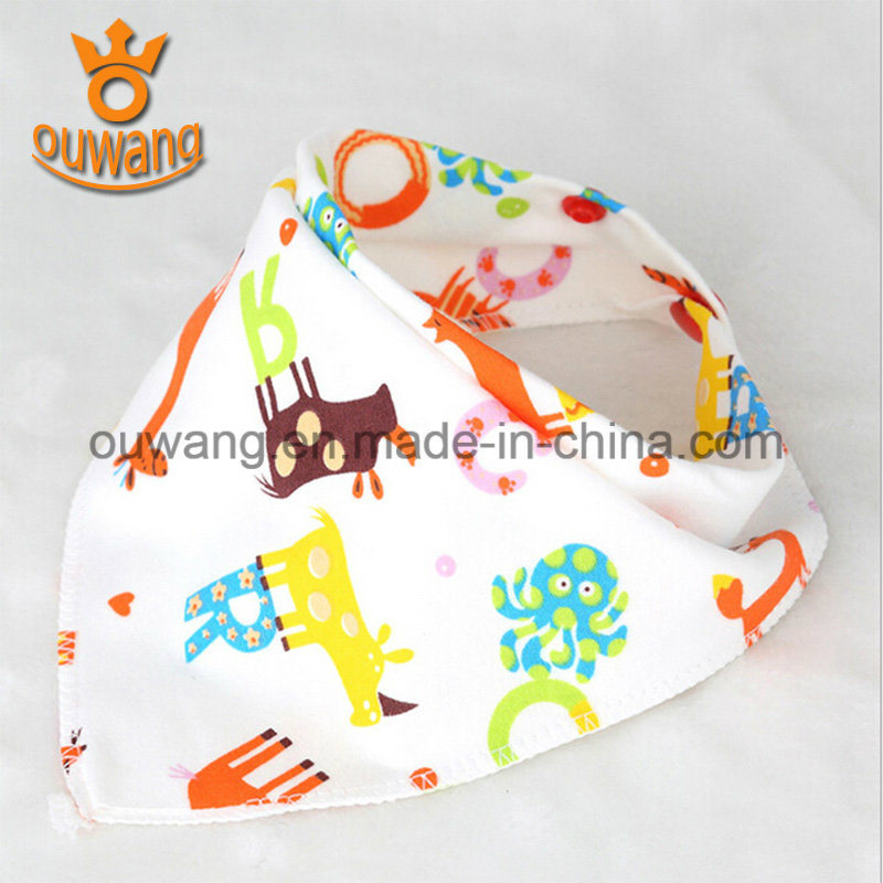 Super Absorbent Soft Baby Bandana Drool Bibs for Teething pictures & photos