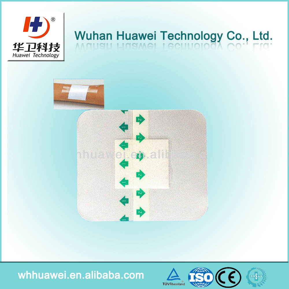 [Hot Item] Medical Transparent Wound Dressing Waterproof Wound Dressing for  Swimming