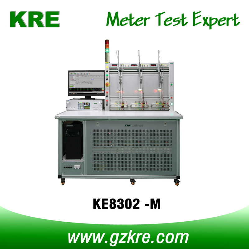 Class 0.05 3 Positon Three Phase Electric Meter Test Bench with ICT for Testing I-P Close Link Meter