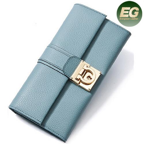 23a67b0515d5 [Hot Item] Hot Selling Simple Design Women Candy Colour Coin Wallets Ladies  Hand Purse Clutch Bag Al326