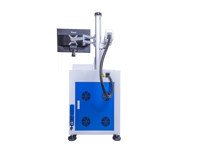 Low Price 10W 20W 30W 50W Fiber Laser Marking Machine for Metal and Nonmetal