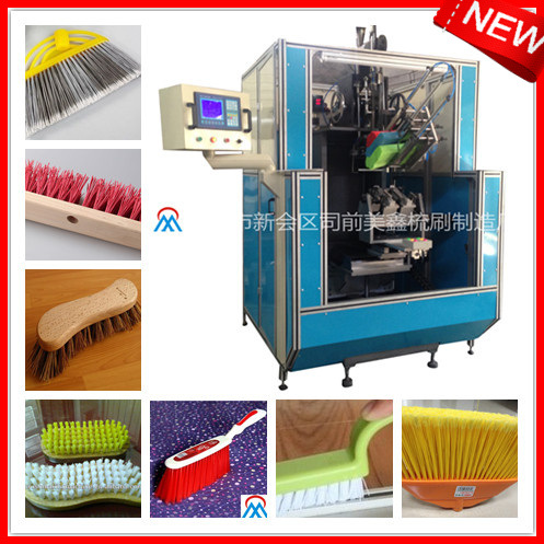 4 Axis Broom Making Machine