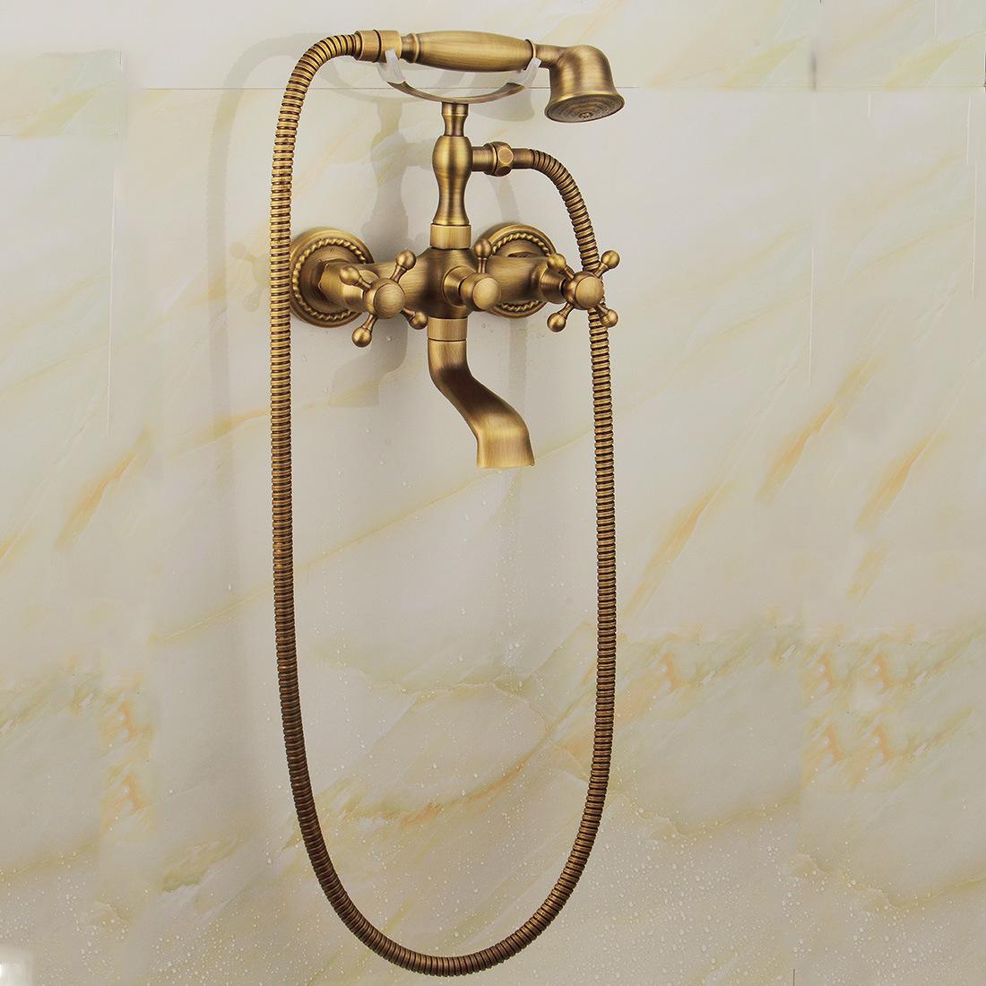 China FLG Antique Telephone Design Shower Set with Tap - China ...