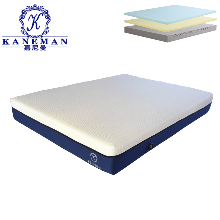 China 10 Inch High Quality Rollable And Foldable Memory Foam