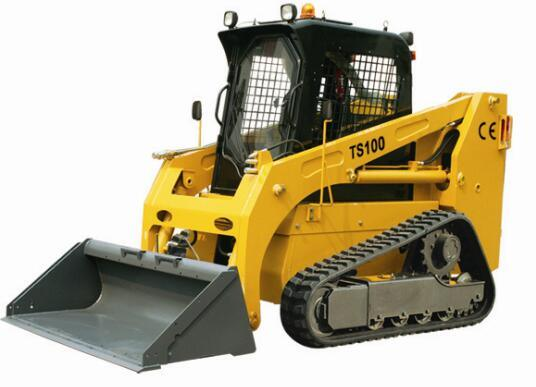 700-1200kg Operation Weight Track Skid Steer Loader China Bobcat