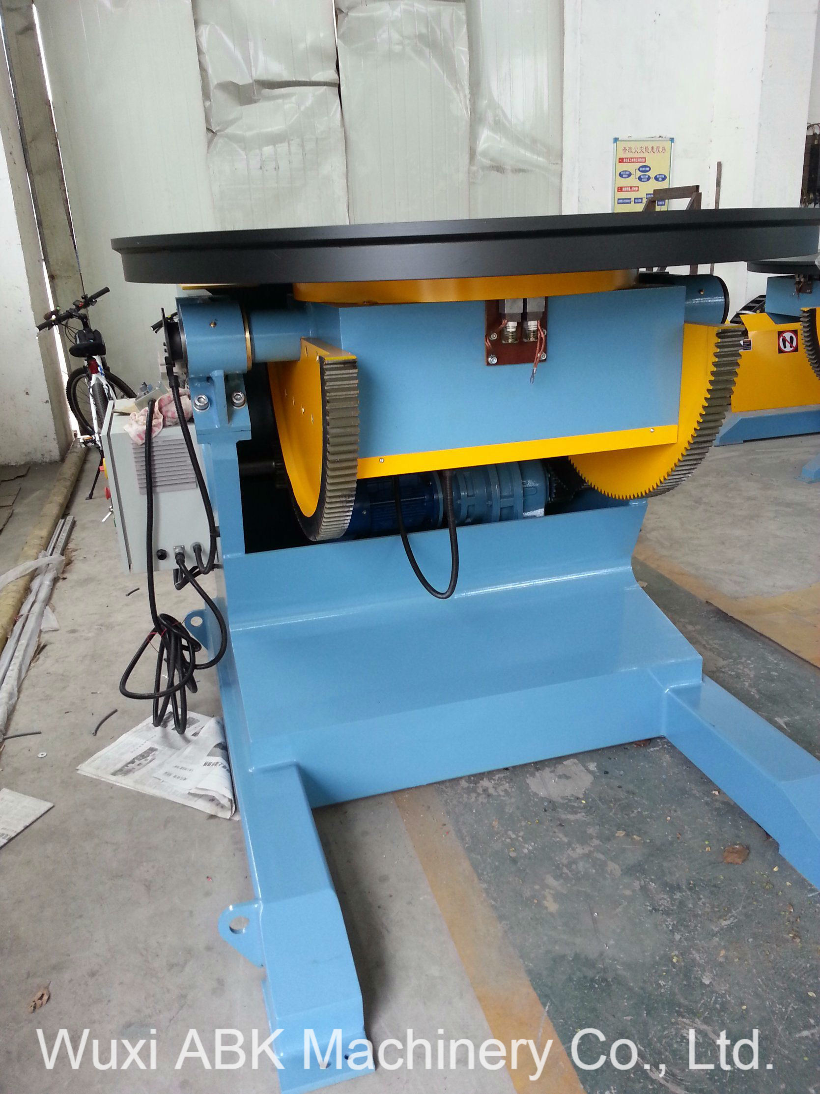 China HBJ-50 Flipping Rotating Automatic Welding Table/Welding ...