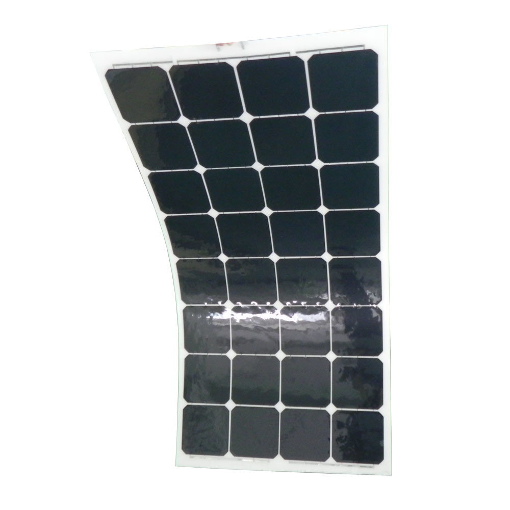 100W Semi Flexible Solar Panel/Solar Module with Sunpower Solar Cells