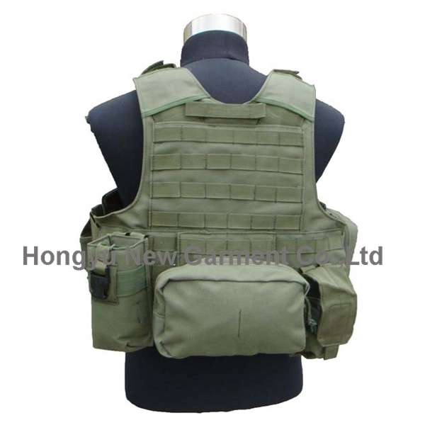 Outdoor Combat Military Tactical Molle Vest