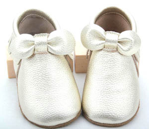 Baby Leather Moccasins Shoes MOQ150