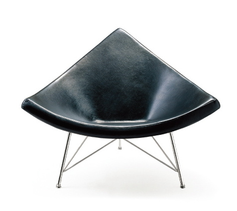 Delicieux Fiberglass Leather Coconut Chair Triangle Chair