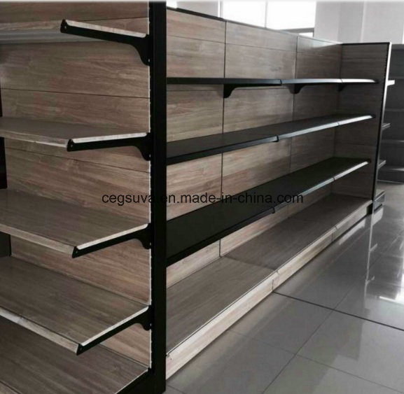 Supermarket Metal Display Retail Fixtures Shelves