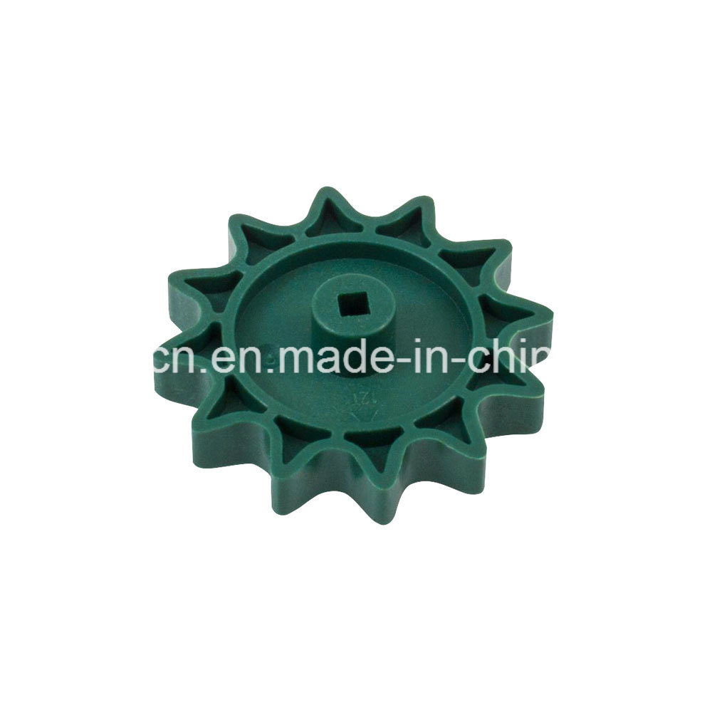 CNC Machining POM Derlin ABS PA Nylon Plastic Ratchet Gear/Sun Ring Reverse Printer Gear pictures & photos