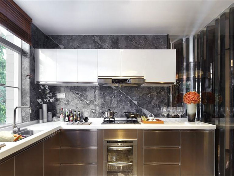 China White Kitchen Cabinets Tall