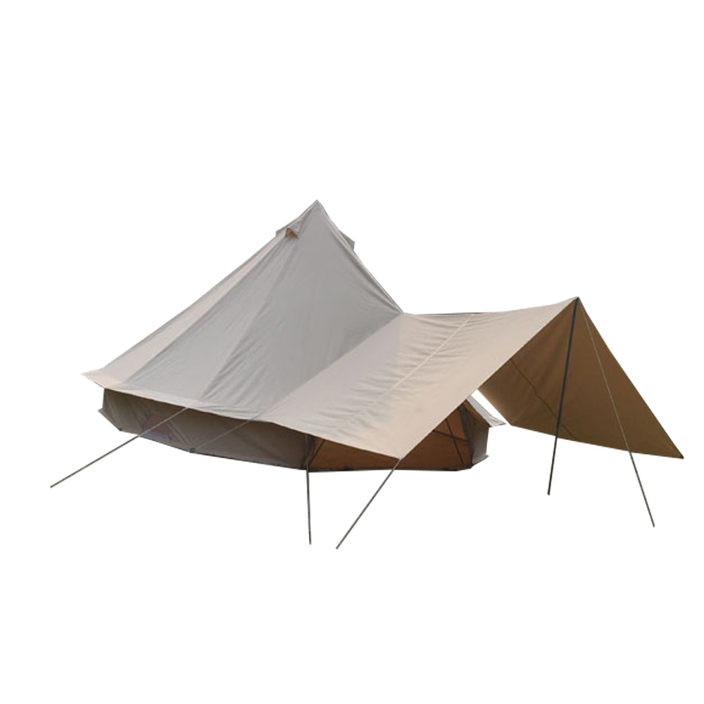 China 100% Waterproof Canvas 6m Bell Tent Adaptable Awning for Sale - China Awning C&ing Awning  sc 1 st  Beijing Unistrengh International Trade Co. Ltd. & China 100% Waterproof Canvas 6m Bell Tent Adaptable Awning for Sale ...