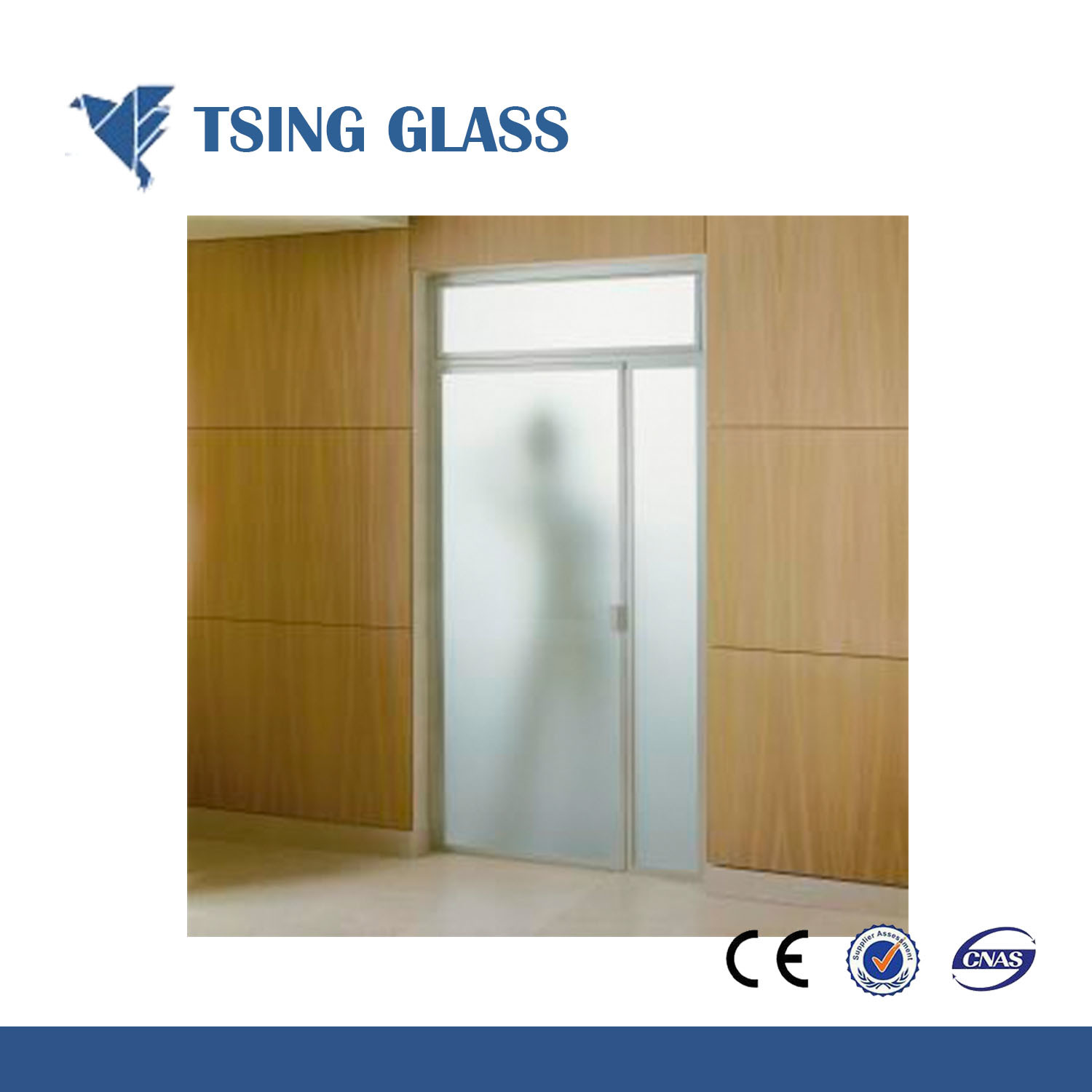 China 3 19mm Clear Colored Frosted Glass For Bathroomdoorwindow