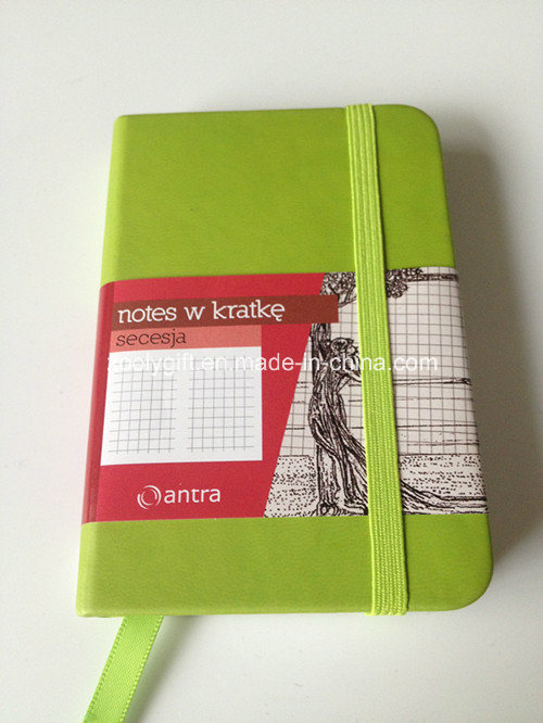 Quality Customized A6 Moleskine Agenda Notebook
