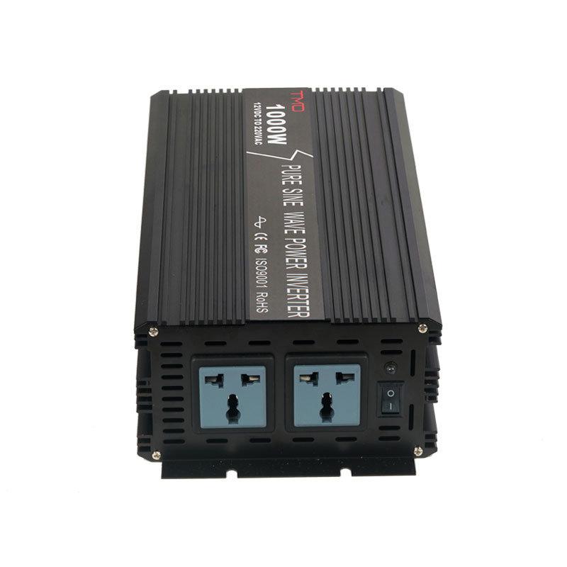 [Hot Item] 1000 Watt Pure Sine Power Inverter - 12 Volt DC to 120 Volt AC  for American Market