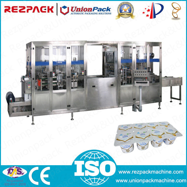 Automatic Plastic Cup Forming Filling Sealing Machine (RZ-8L)