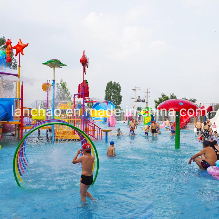 Whole Water Park Design by Professional Manufacturer