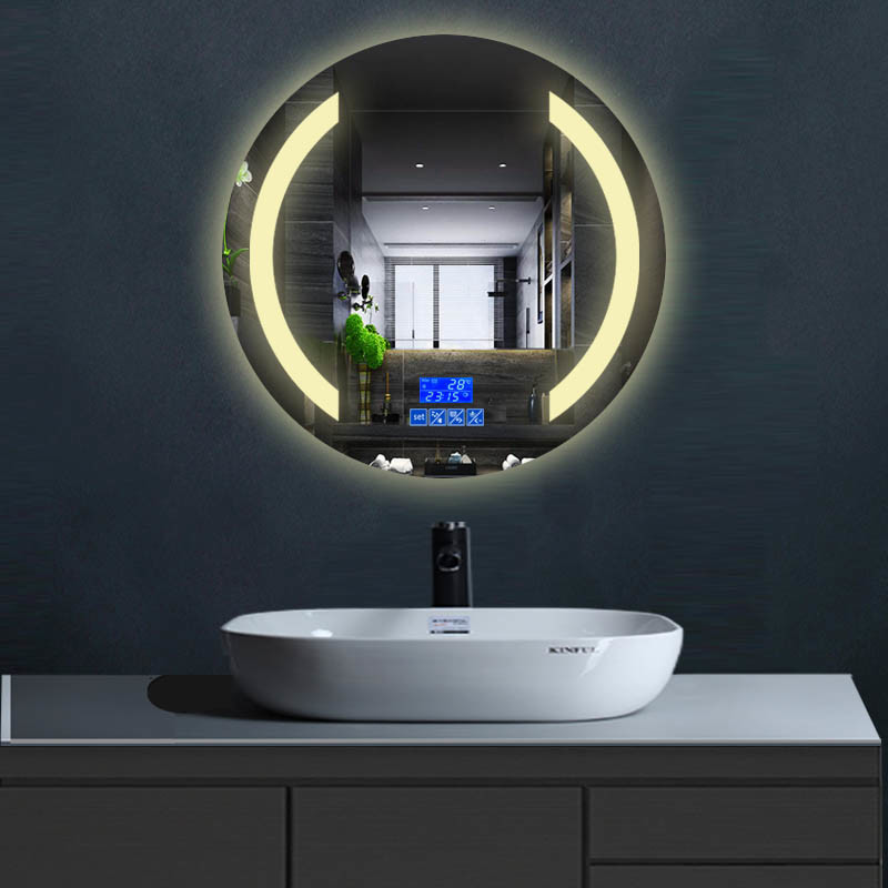 China Ip65 Grade Led Bathroom Mirror Illuminated Bluetooth Mirror For Hotel China Led Bathroom Mirror Illuminated Bluetooth Mirror
