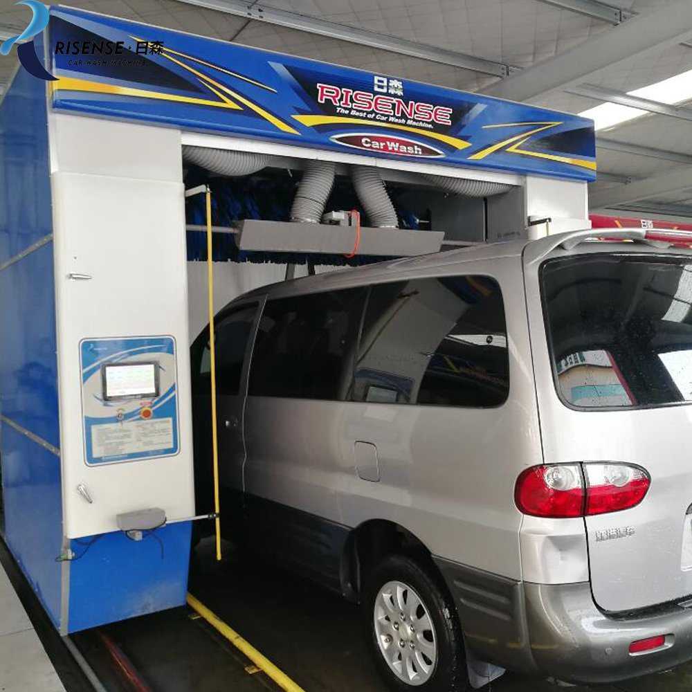 China Rollover Type Mobile Car Washing Machine with Brushes - China Car  Washing Machine, Car Wash Machine